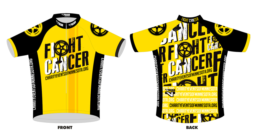 Fight Cancer Bike Jersey